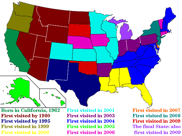Fifty States by Fifty