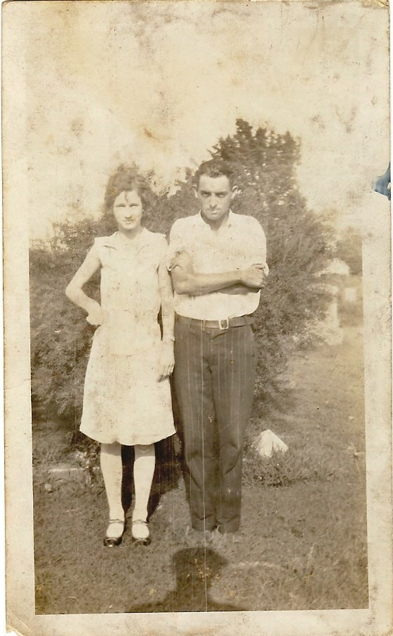 Marvin Richard Bridges and first wife Ruby. (photo courtesy of Steve Ellis)