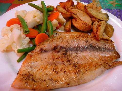 paltry, sage, rose merry & time: Fresh fish for dinner in ...